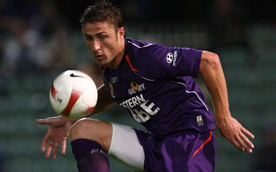 Djulbic duing his first spell at Perth
