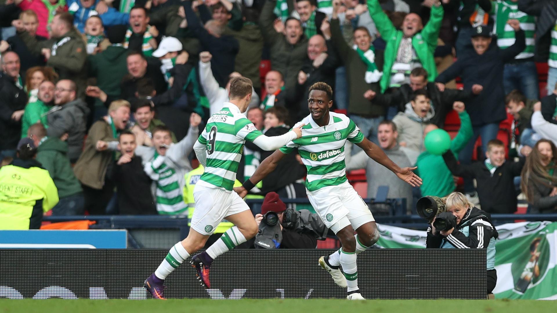 Moussa Dembele Rangers v Celtic Scottish League Cup 23102016