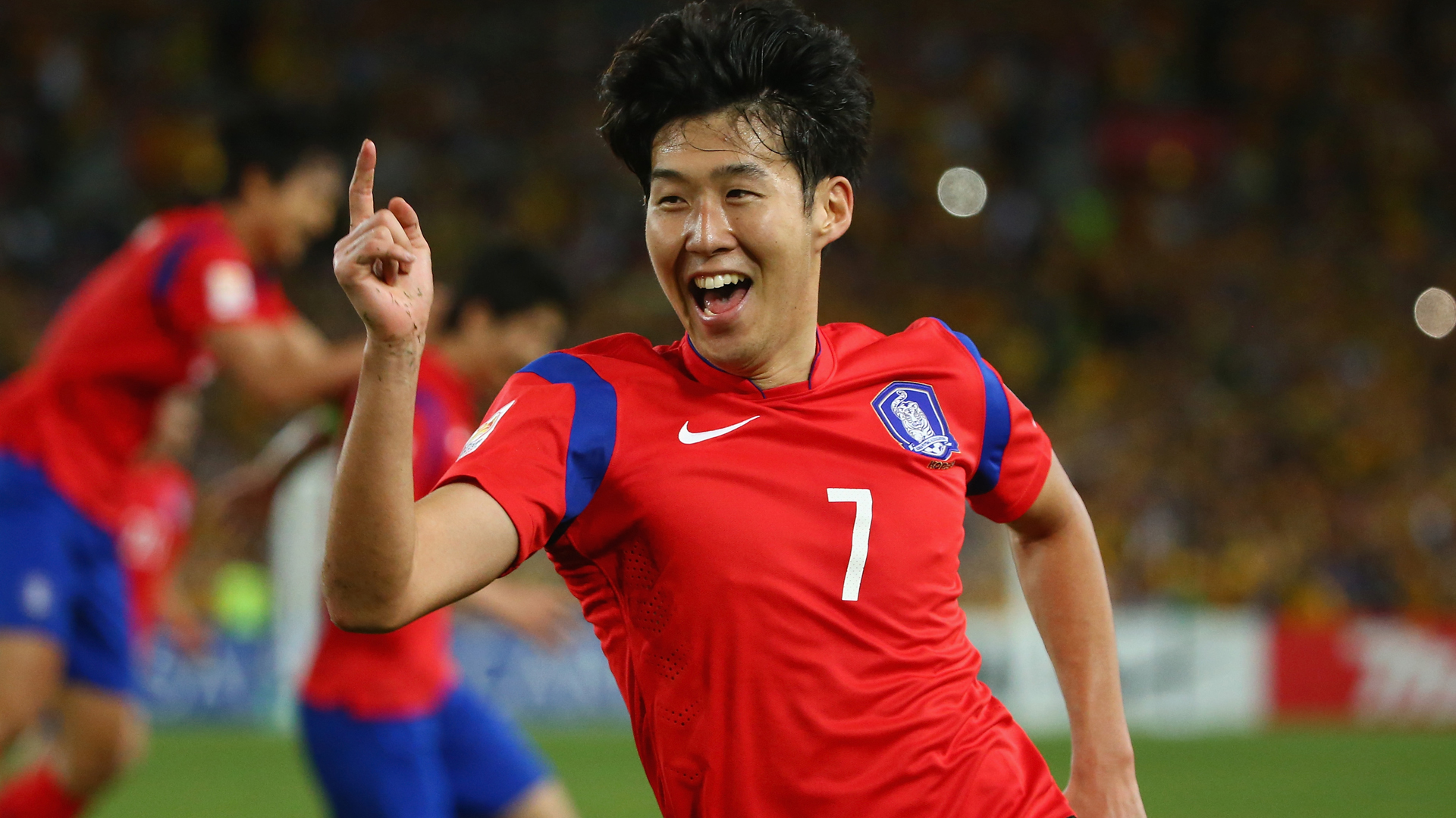 Son Heung-min Australia V South Korea Asian Cup 31