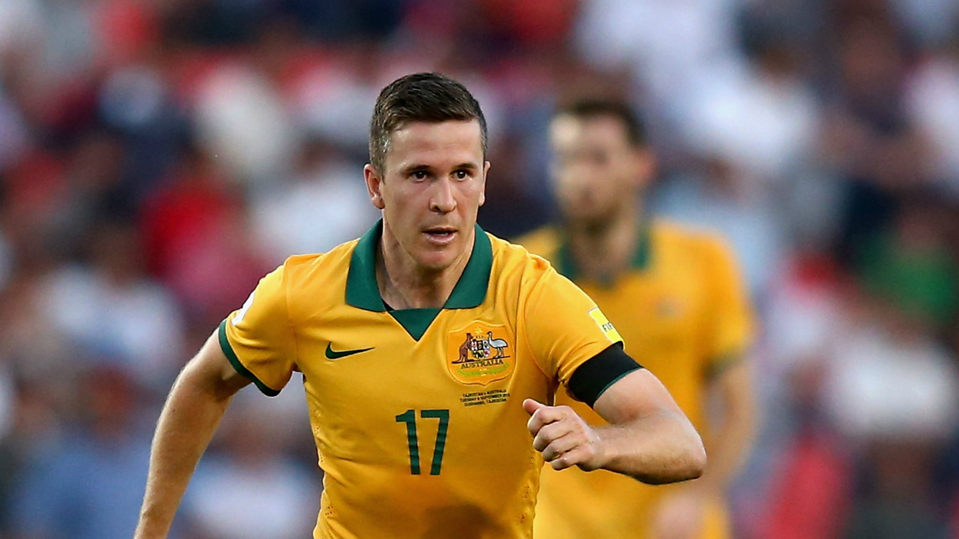 Matt McKay Australia World Cup qualifying