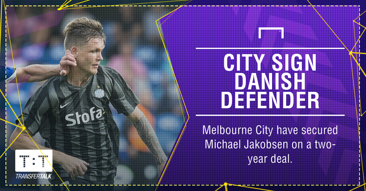 Danish defender Jakobsen joins A-League's Melbourne City