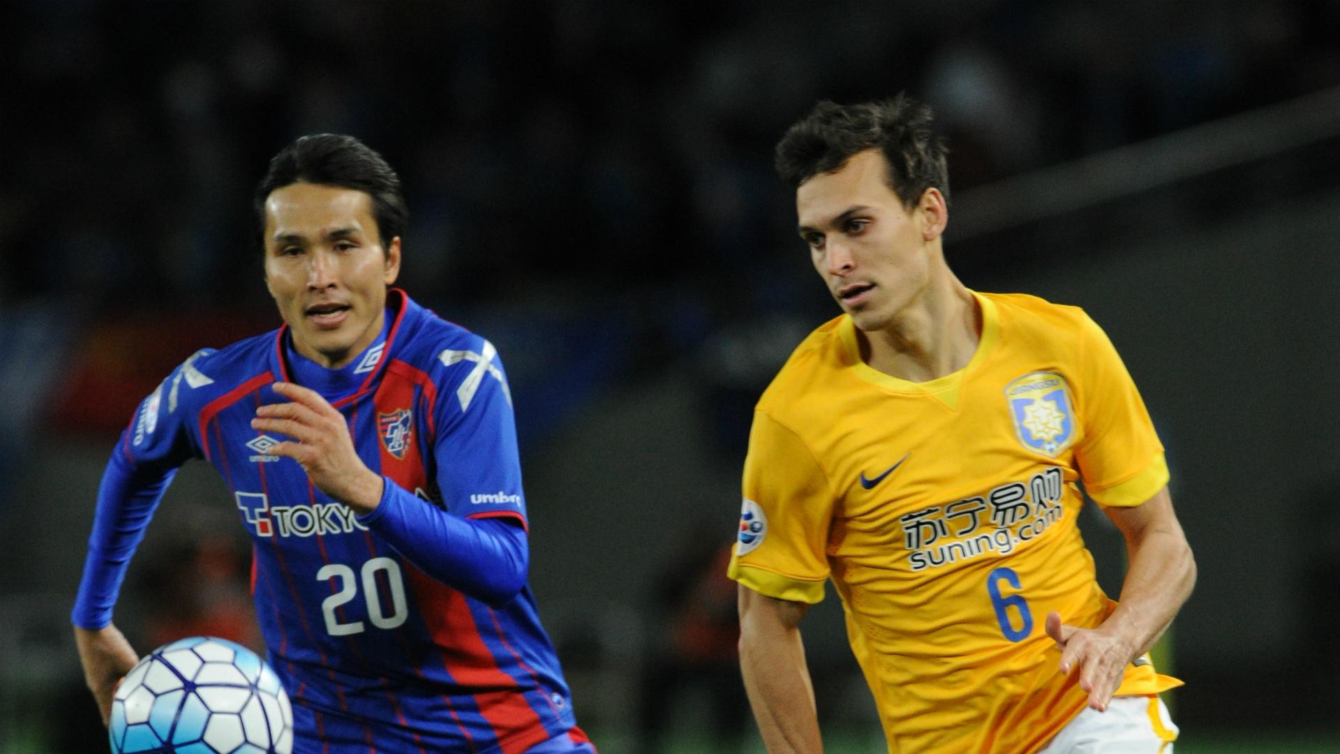Trent Sainsbury FC Tokyo v Jiangsu Suning AFC Champions League 15032016