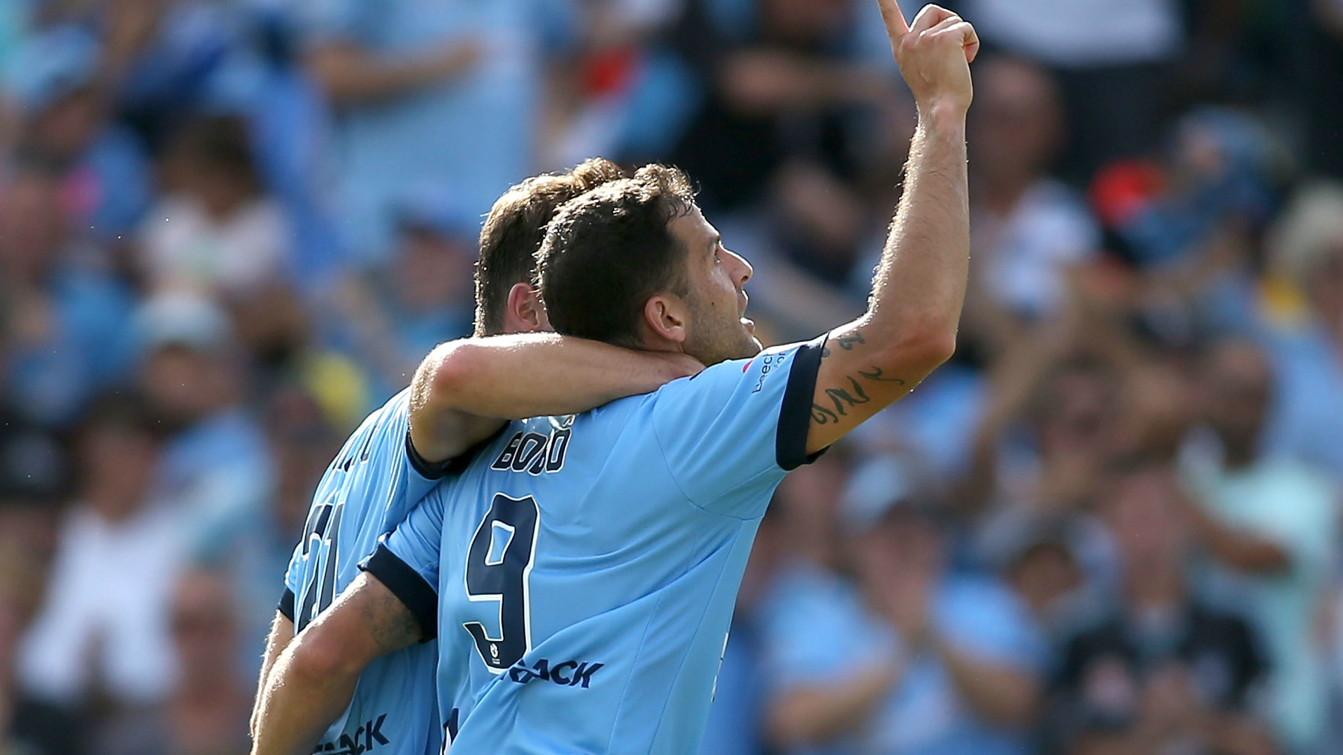 Pressure on Sydney FC, says Glory skipper
