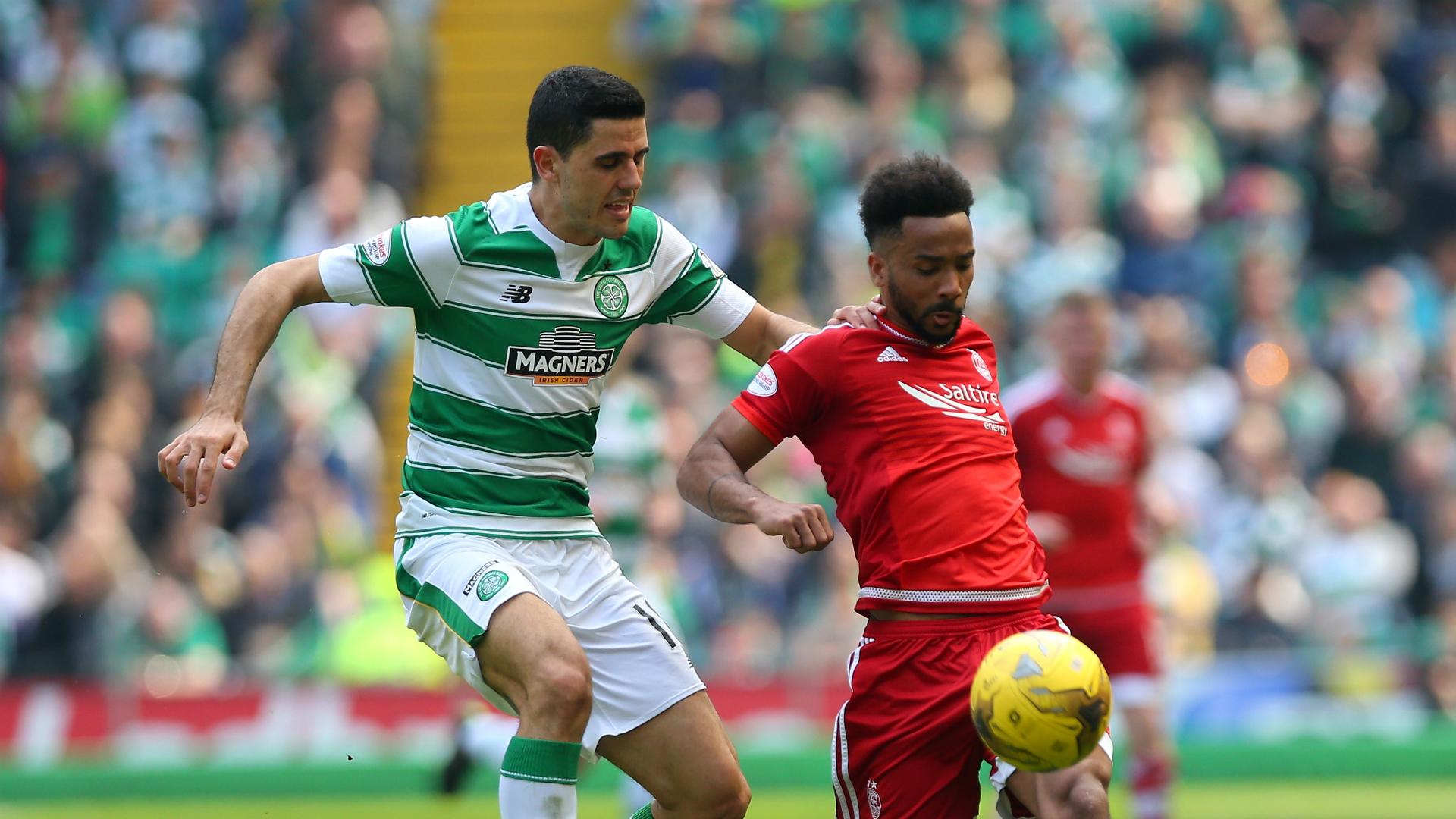 Tom Rogic Celtic v Aberdeen Scottish Premiership 08052016