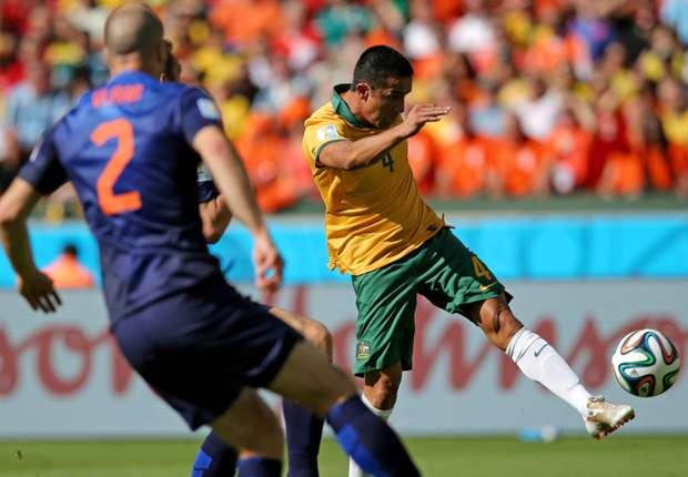 Tim Cahill wins 100th Australia cap versus Chile