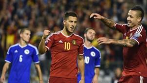 eden hazard - belgium 3 bosnia 1 - euro 2016 qualifier - 03092015
