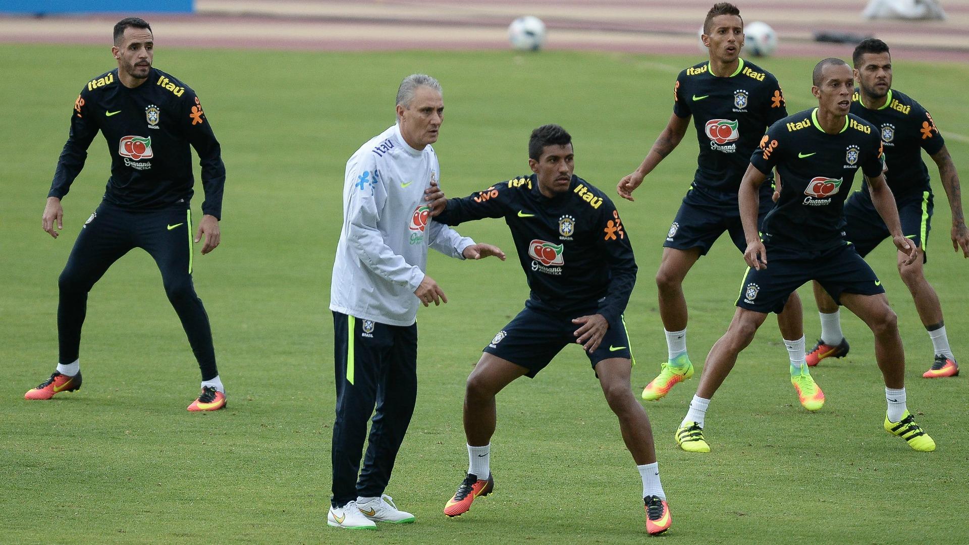renato augusto tite paulinho marquinhos seleção brasileira brasil brazil