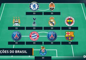 Confira a seguir a nossa seleção dos jogadores brasileiros que decepcionaram na última temporada do futebol europeu