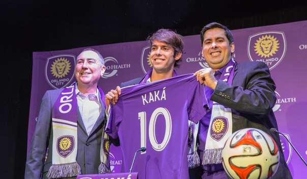 Kaká foi contratado pelo Orlando City, recém-integrado a MLS