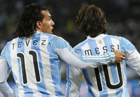 Tevez will be a threat, says Messi