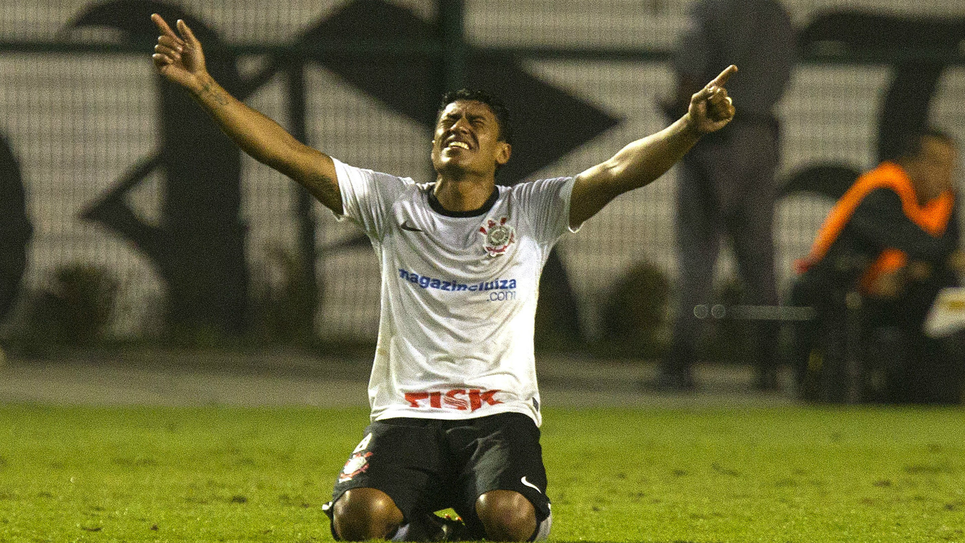 Paulinho - Corinthians - Libertadores 2012