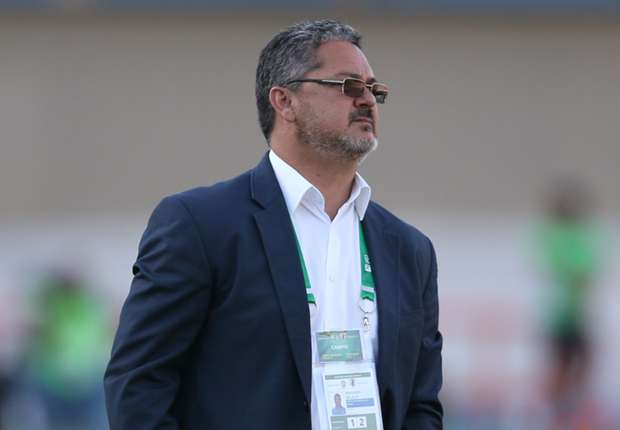 Singled out: Brazil coach Rogerio Micale proves his points at Olympics