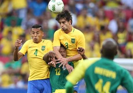Marquinhos and Caio star for Brazil
