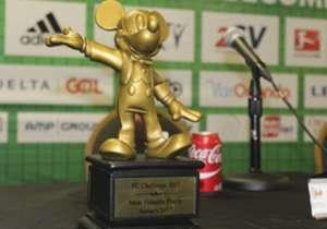 Mickey Mousse de oro al mejor jugador.