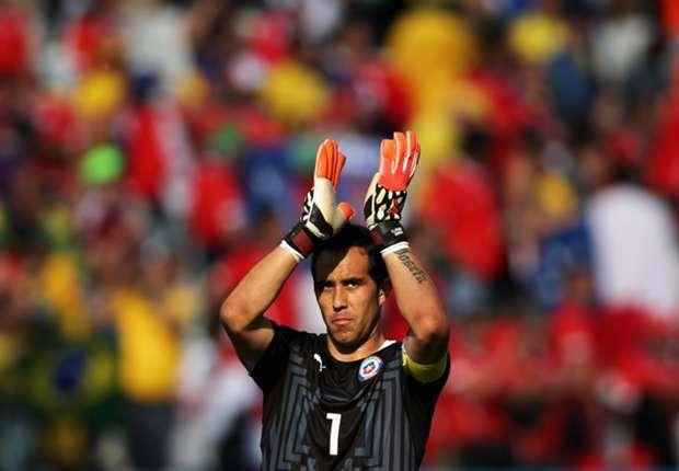 Heuert ab sofort bei den Blaugrana an: Chile-Keeper Claudio Bravo