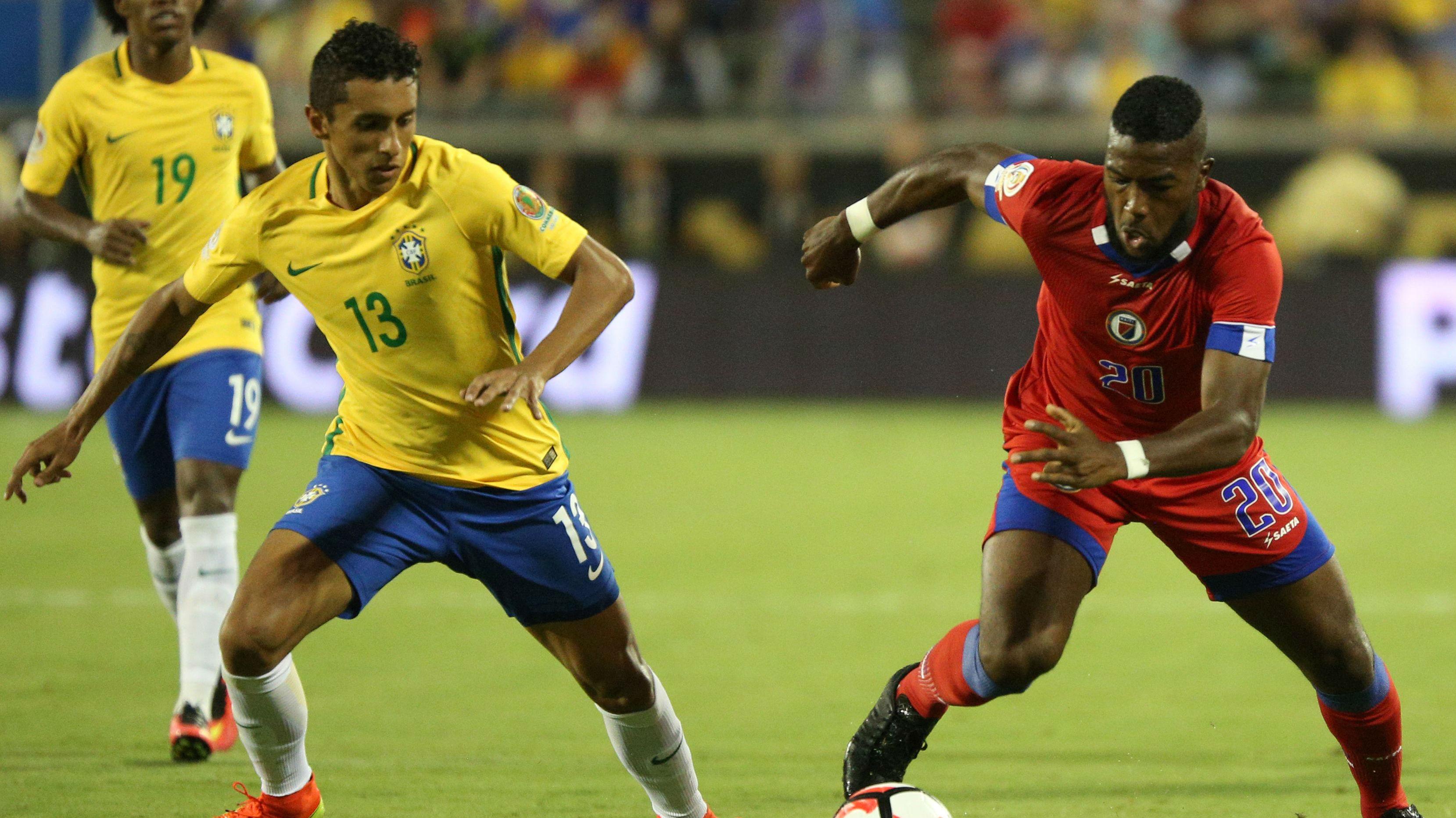 Brazil could lose Marquinhos for Oympics as Paris Saint Germain