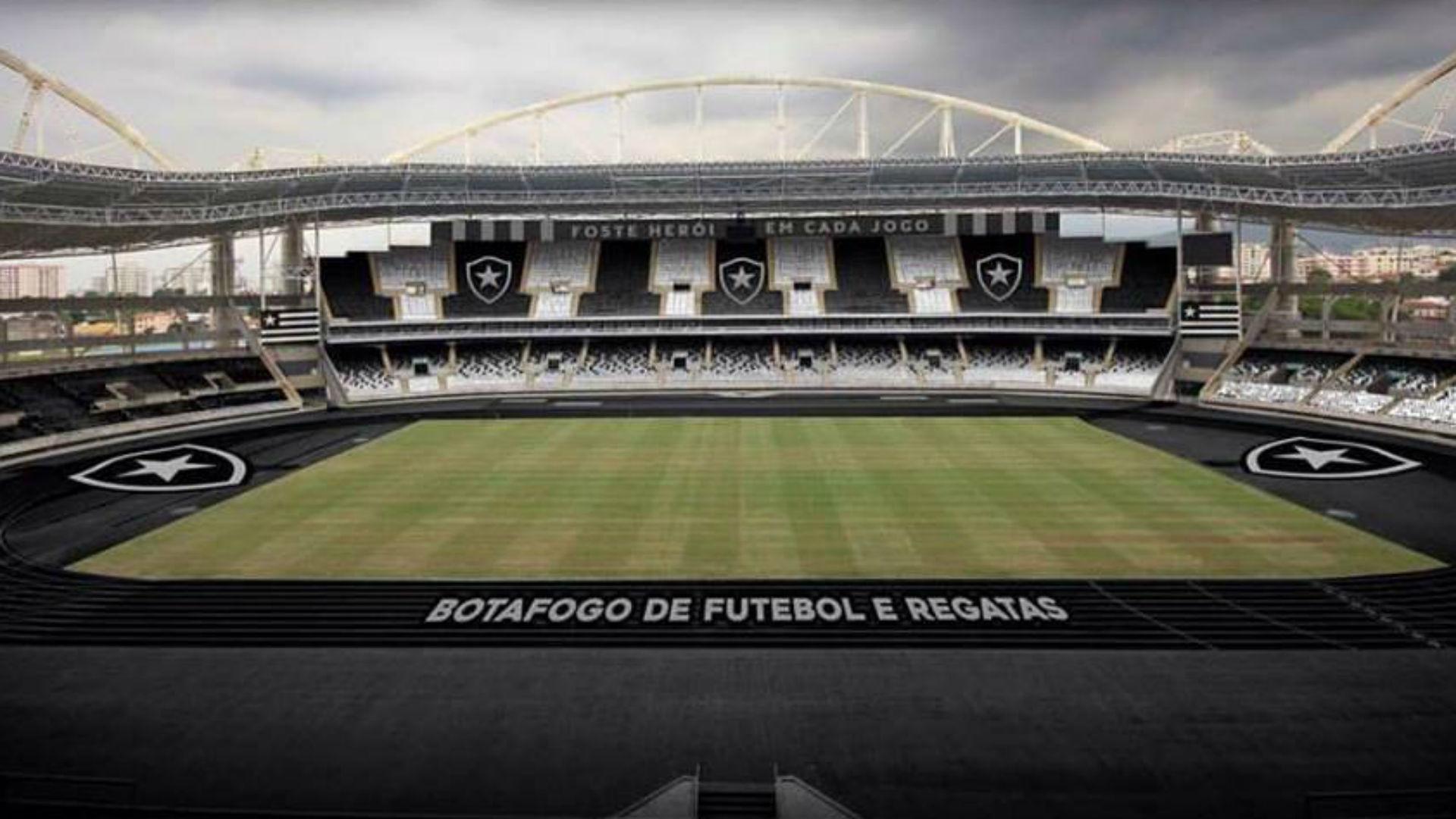Enfim vai acontecer Estádio Nilton Santos terá as cores do