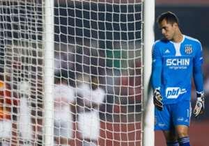 Em 29 jogos com a Ponte Preta, Marcelo Lomba fez 109 defesas e levou 33 gols. O goleiro conseguiu deixar o campo sem levar tentos 9 vezes (Fonte: Opta)