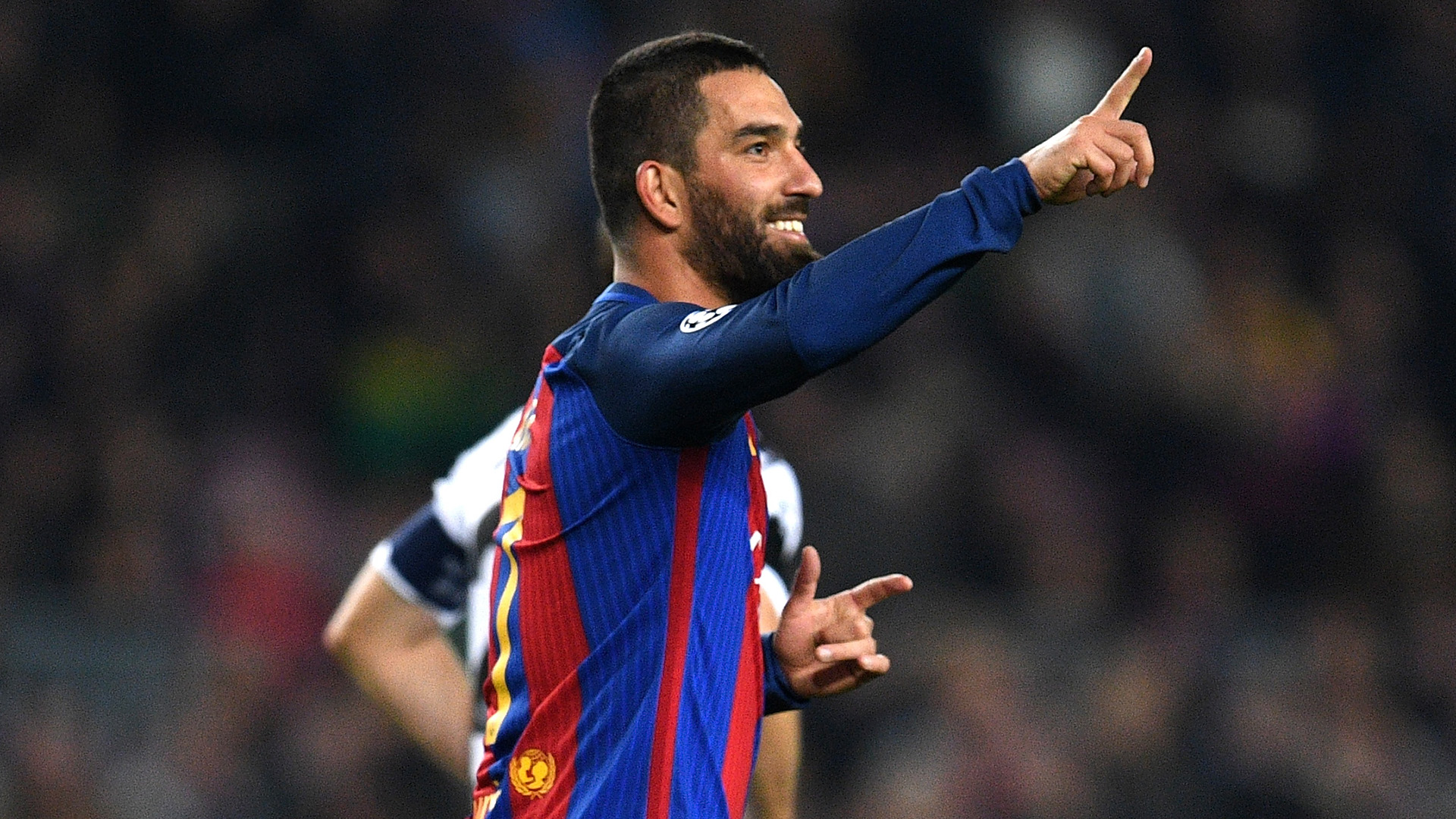 Arda Turan Barcelona Gladbach UEFA Champions League 06122016