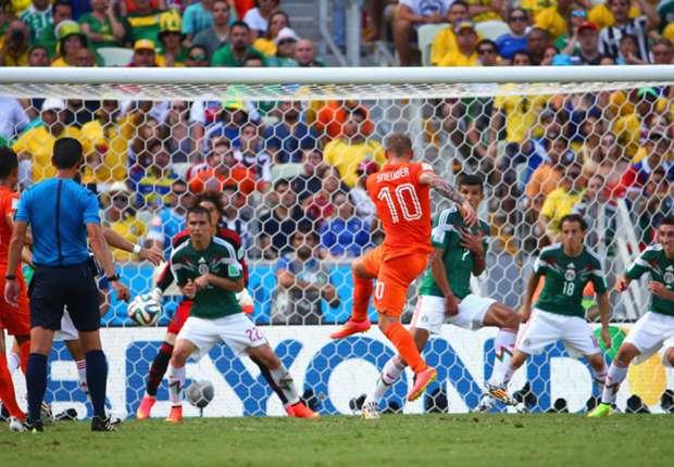 Laporan Pertandingan: Belanda 2-1 Meksiko