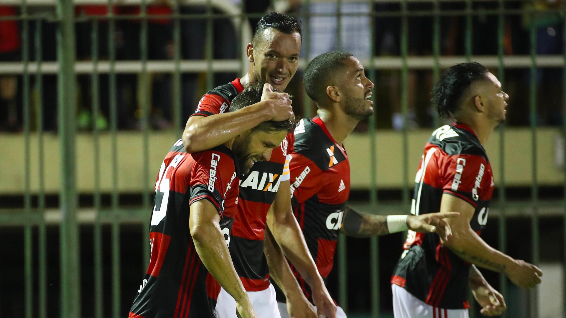 Riego Ribas Réver Flamengo Macaé Carioca 01022017