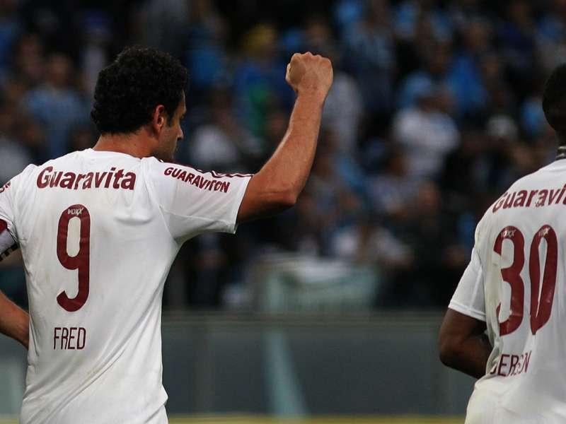 Herói da classificação do Fluminense, Fred exalta a atuação do jovem Gerson