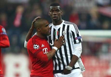 Douglas Costa teases Juve fans