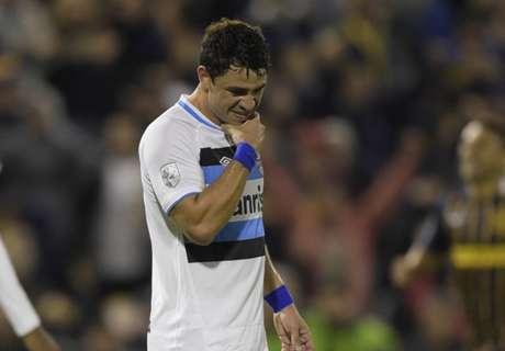 Giuliano lamenta eliminação do Grêmio
