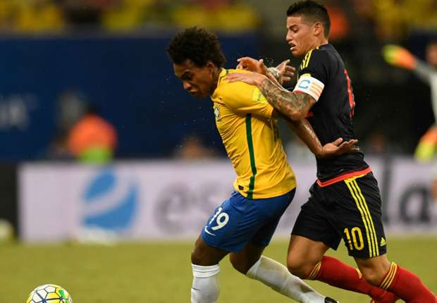 willian james Brazil Colombia 0609