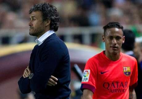 Clima quente no Barça
