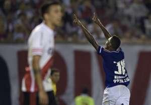 Marquinhos marcou o gol da vitória do Cruzeiro nesta quinta