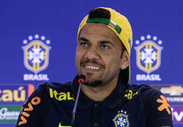 Dani Alves to captain Brazil against Colombia
