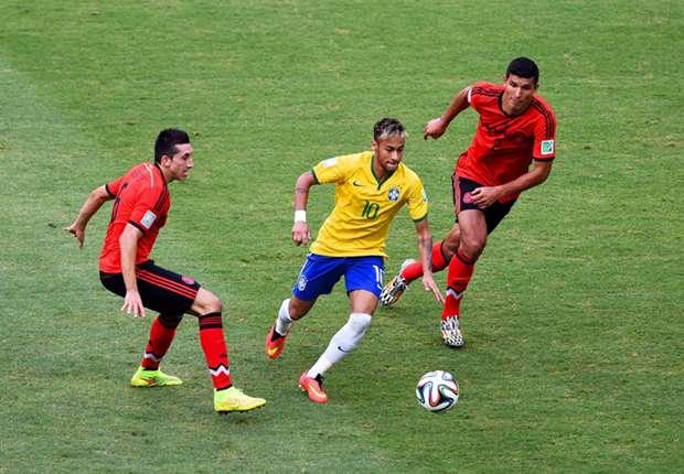 Blieb gegen Mexiko ohne Tor: Brasiliens Neymar