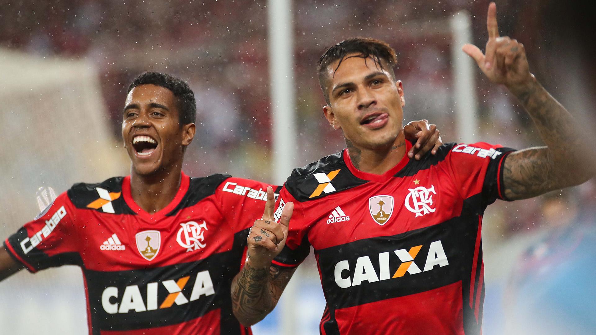 Gabriel Paolo Guerrero Flamengo Atletico-PR Copa Libertadores 12042017