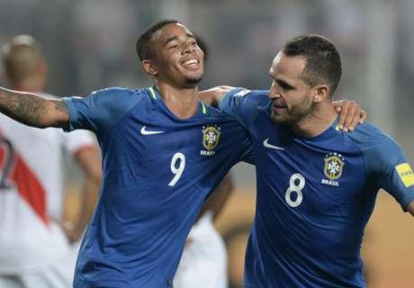 G. Jesus col Brasile: 5 goal in 6 gare