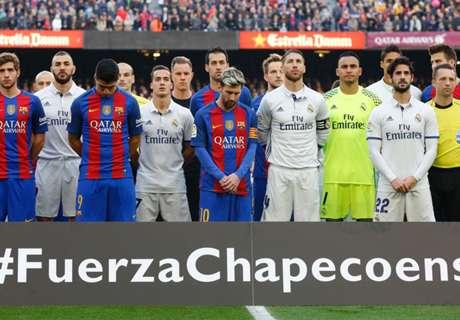 Chapecoense jugará contra Barcelona