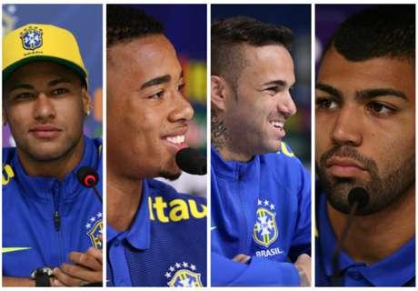 Neymar to lead 4-man Brazil attack?