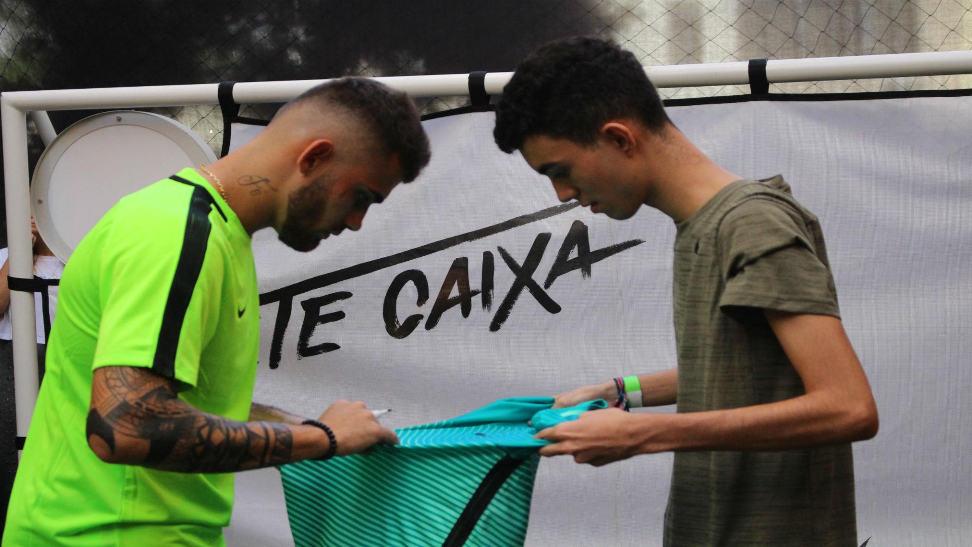 Felipe Vizeu Evento Nike