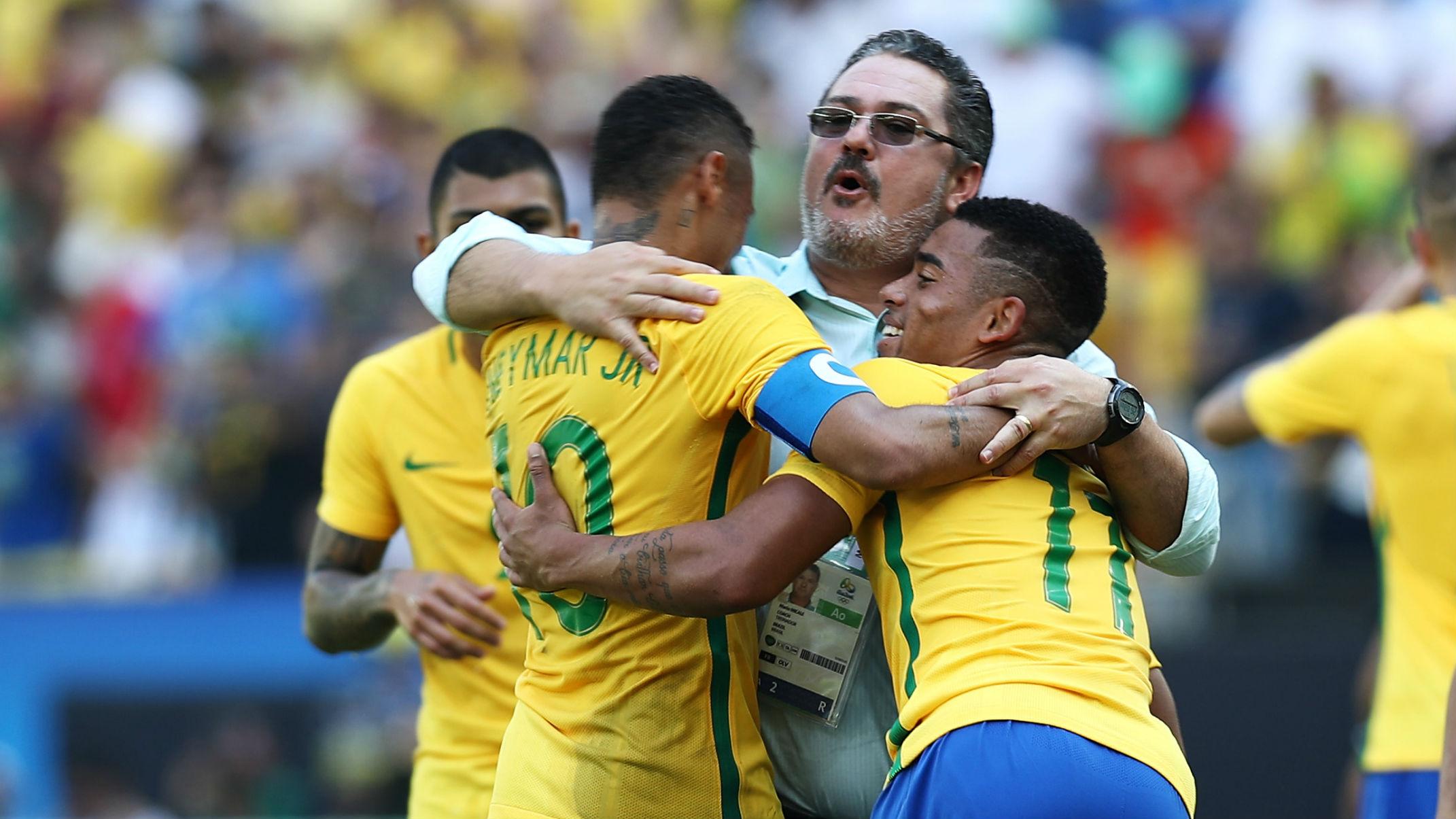 Neymar Micale Jesus Honduras Brasil Seleção Olimpiada 17082016