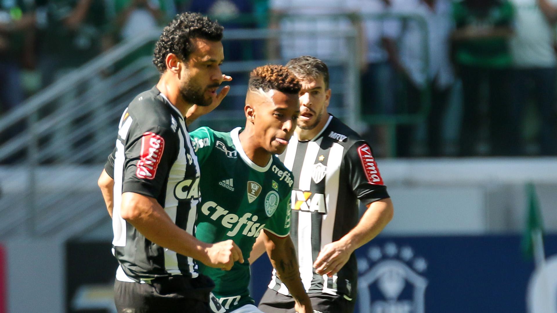 Palmeiras só empata com o Atlético-MG