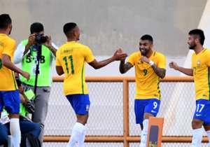 Festa, dois gols, e um teste positivo na preparação para as Olimpíadas Rio 2016. Veja como foi a vitória do Brasil sobre o Japão!