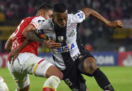Libertadores: Santa Fe 0 x 0 Santos