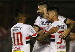 Pratto, Chavez, Gilberto, Cueva, Luiz Araújo.... Muitos jogadores do São Paulo já mostraram que brigarão pela artilharia nesta temporada. Confira quem é até aqui o maior goleador do Tricolor em 2017!