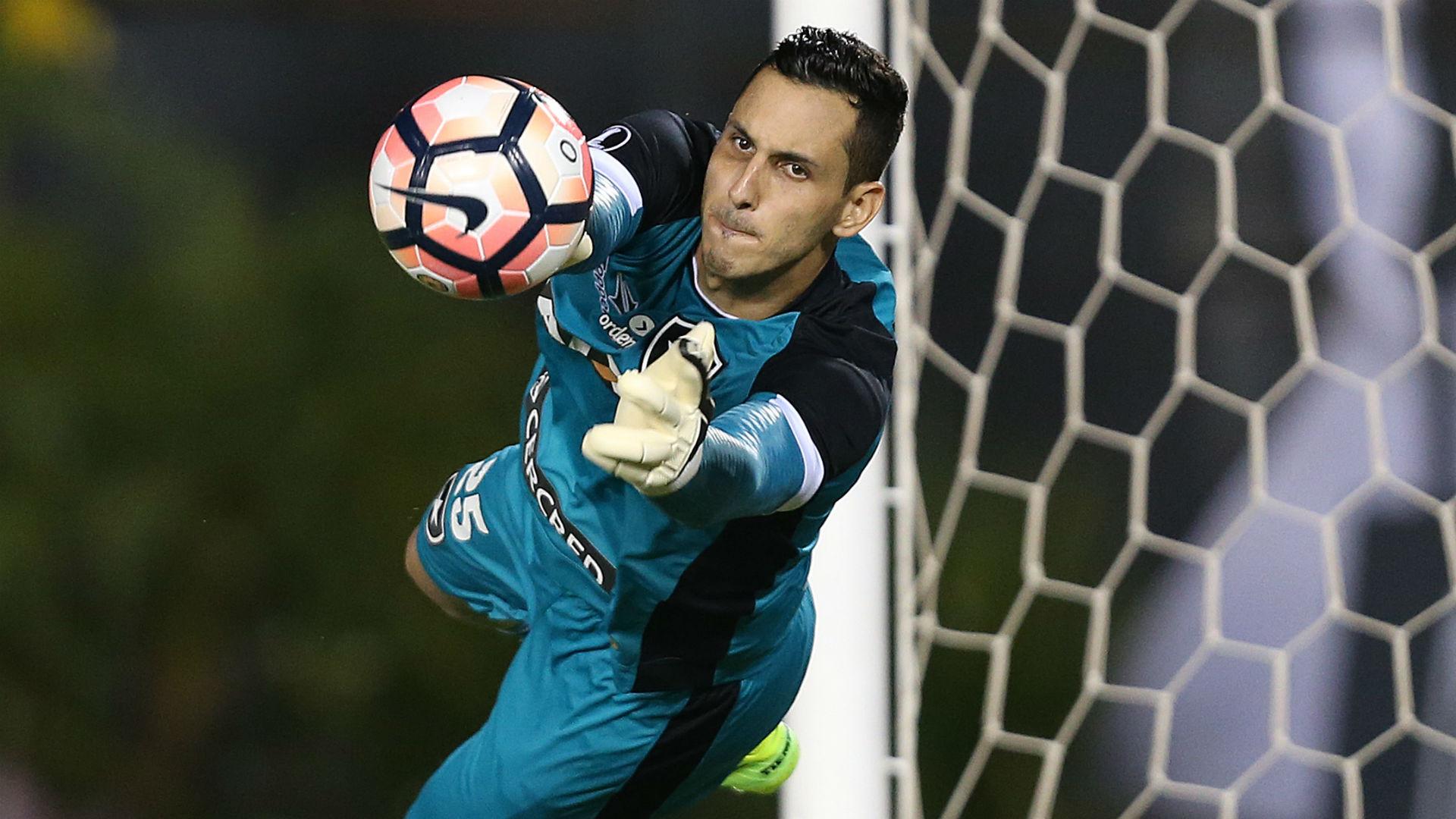 Gatito Fernández Botafogo Olimpia Libertadores 21 03 2017