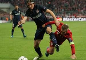 Apesar de Bayern de Munique e Atlético de Madrid terem feito um grande jogo, nesta terça-feira, os dois brasileiros que entraram em campo foram discretos até demais. Mas um deles estará na final da Champions League. Veja como foram as atuações deles