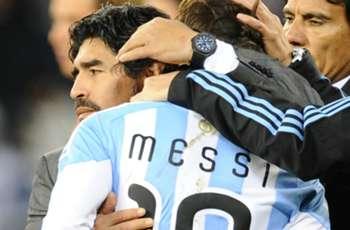 Diego Maradona Pertanyakan Motif Lionel Messi Kembali Ke Timnas