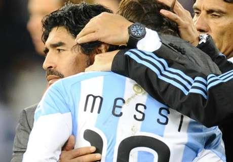Maradona défend Messi
