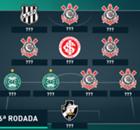 A seleção dos melhores da 36ª rodada do Brasileirão