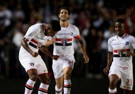 Libertadores: Sao Paulo 4-0 Toluca
