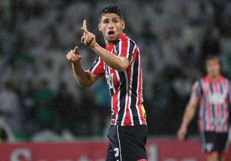 Calleri: 7º artilheiro do SP na Libertadores